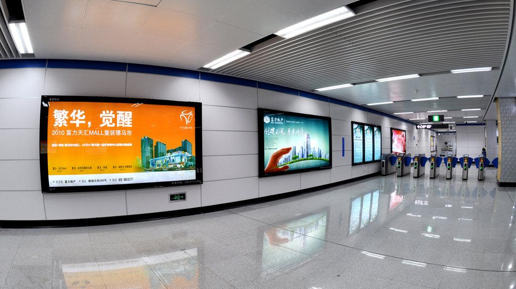 成都地铁广告投放