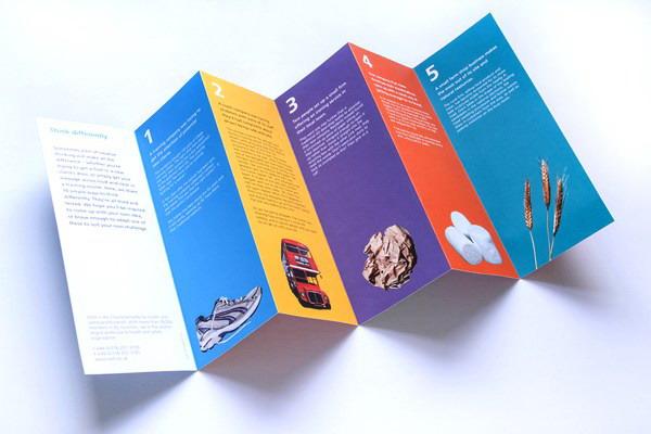 如何制作与众不同的彩页印刷传单?