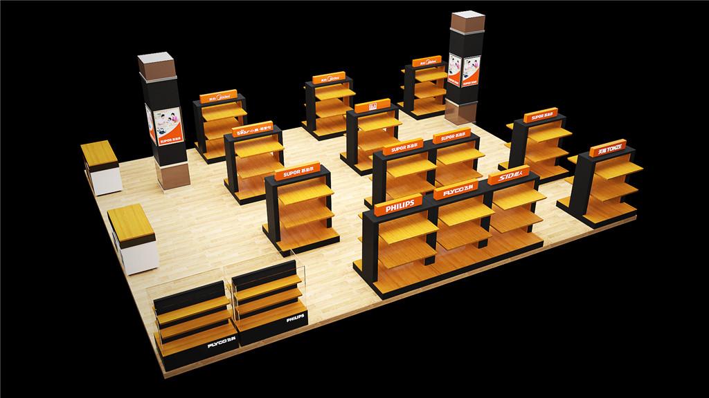 商场商品展示台设计 (3)