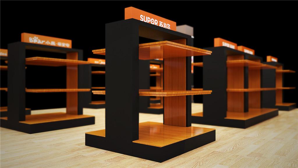 商场商品展示台设计 (1)