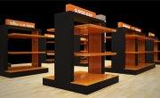 成都商场商品展示台设计